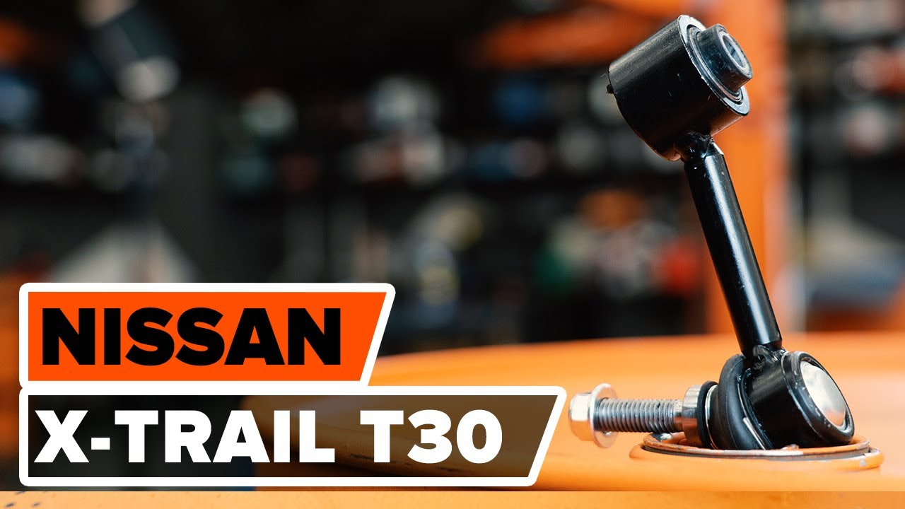 Pour NISSAN TERRANO II front anti roll bar link rod x 1