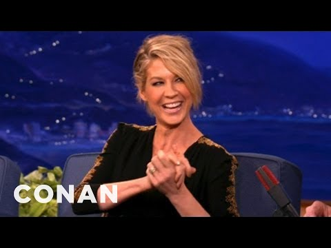 Jenna Elfman Always Puts The Brakes On Sexy Time  CONAN on TBS
