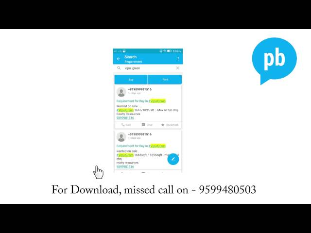 Plabro - How to use App as a Real Estate Agent - YouTube