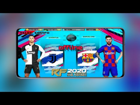 Real Football 2020 Latest Game Android Mod Offline 600MB Download RF 2020 For Android Best Graphics