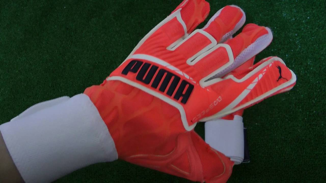 PUMA EVOSPEED 1.4 HYBRID Goalkeeper Glove Preview - YouTube 1b398f96497e