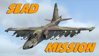 DCS World - SU-25T SEAD Mission
