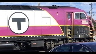 All Aboard! Rockport MBTA Commuter Rail (Part One) [My 1st Video]