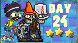 Plants vs. Zombies 2 China - Neon Mixtape Tour Day 24 Last Stand《植物大战僵尸2》- 摇滚年代 24天