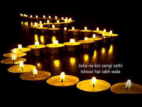 Jyot se Jyot Jagate Chalo (Lata) Prayer song with lyrics