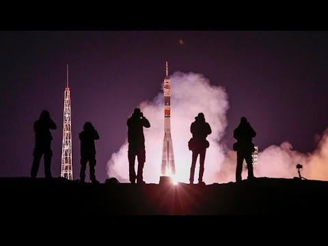 شاهد: لحظة إطلاق المركبة الروسية -سويوز- إلى الفضاء وعلى متنها ثلاثة رواد…  - 22:53-2019 / 3 / 14