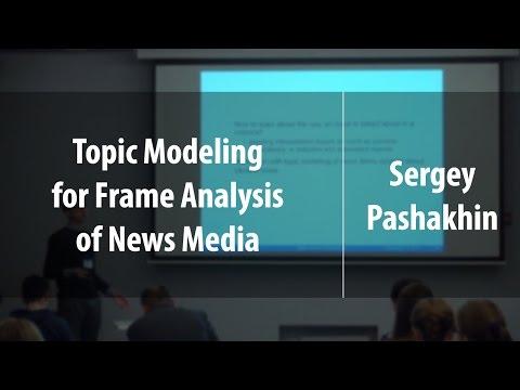 Topic Modeling For Frame Analysis Of News Media