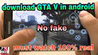 How to download GTA V in android with gameplay