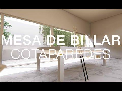 Mesa De Billar - Diseño De Cotaparedes