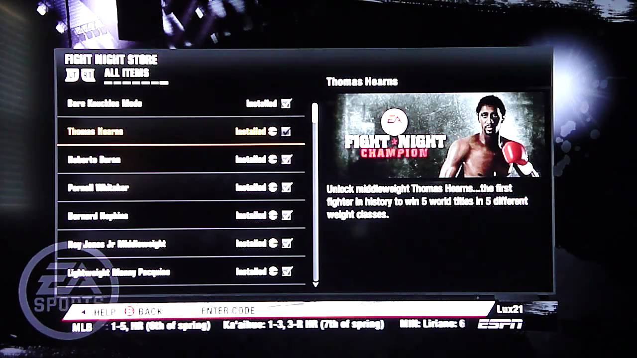 fight night champion bare knuckle mode xbox 360 free