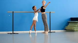 Подарок от родителей: Урок с Настоящей Балериной Анной Радик!!!