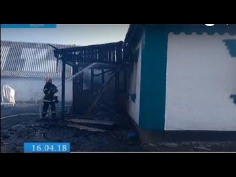 ТРК ВіККА: Під час ліквідації пожежі постраждав жашківчанин