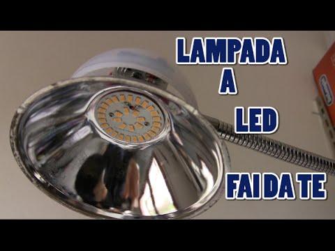 Lampada a led fai da te senza onde elettromagnetiche youtube - Lampadario bagno fai da te ...