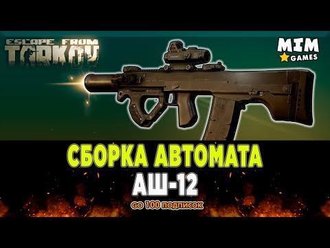 Сборка АШ-12 Тарков