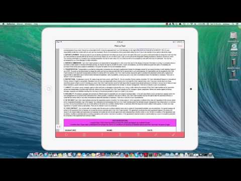 Adobe Reader instructions for ipad, iphone, android phone & tablet