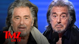 Al Pacino Dumped Because He's Old And Cheap | TMZ TV