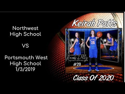 vs Portsmouth West High School ~ January 3rd, 2019