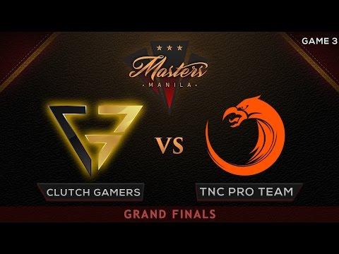Clutch Gamers vs TNC Pro Team | The Manila Masters | Bo5 | PH Coverage | Game 3