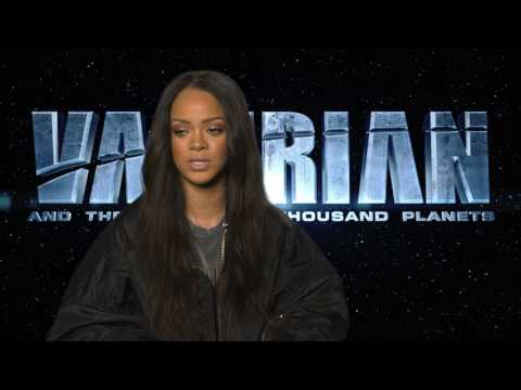 Valerian Interview Rihanna 1
