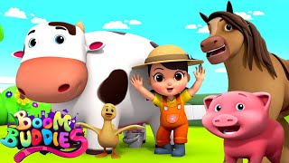 Old MacDonald Had A Farm | Farm Song For Kids | Children Nur...