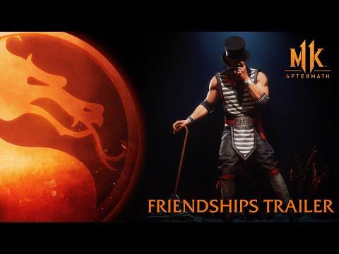 Дружественные добивания Mortal Kombat 11 показали в новом трейлере