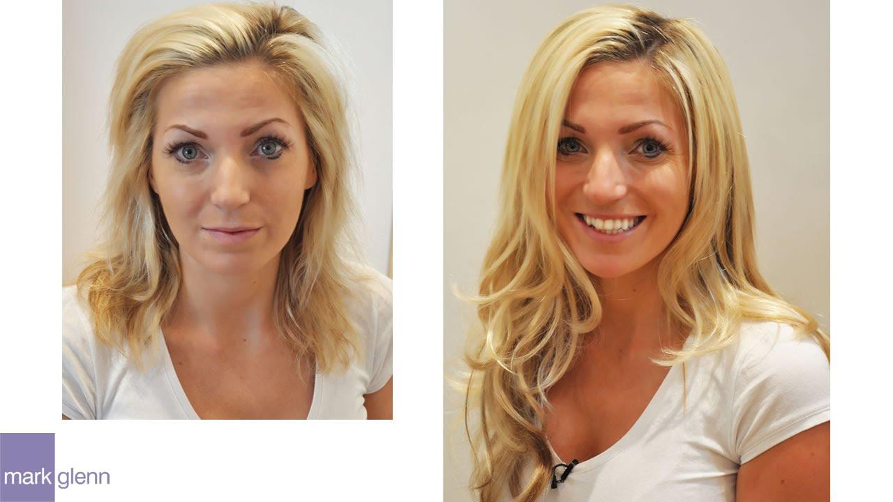 Amazing Hair Extensions Mark Glenn Hair Enhancement London Youtube