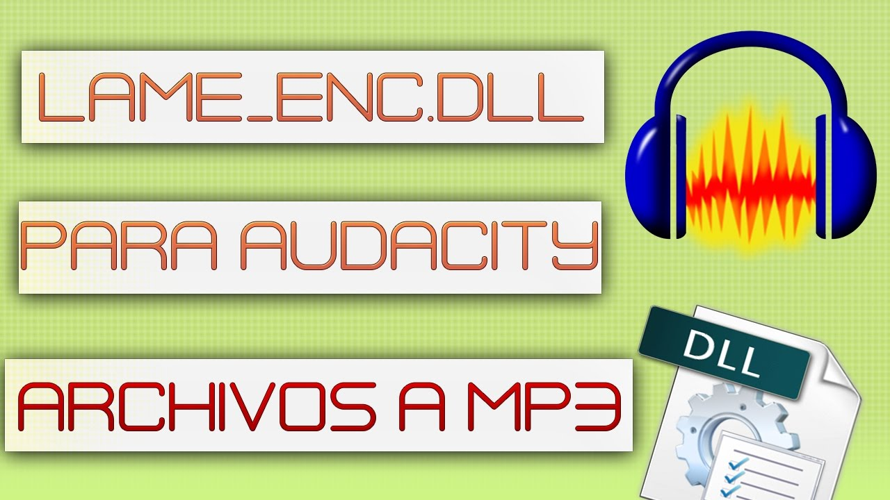 lame mp3 encoder for audacity