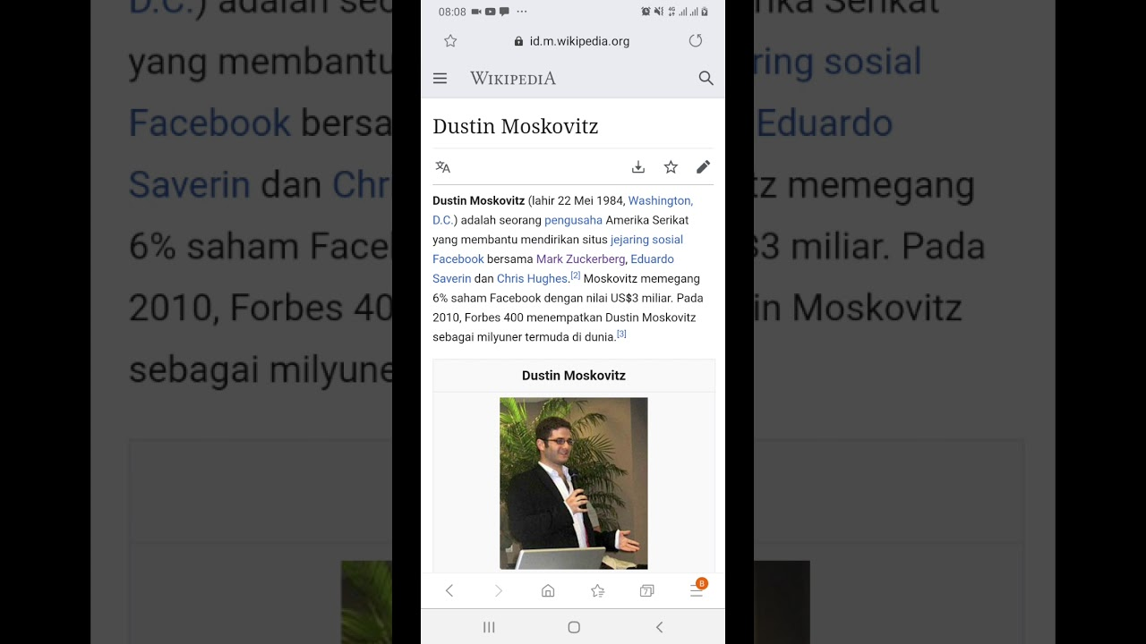 Sumber Media - Siapa itu Dustin Moskovitz - YouTube