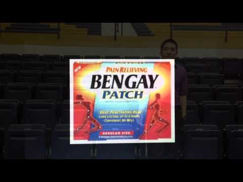 Bengay Patch - OTC commercial