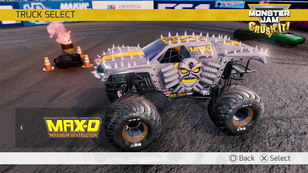 Monster Jam Crush It Official Video Game Trailer Youtube