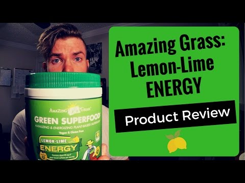 Amazing Grass Review: Want Amazing Energy EVERY Morning? Try This!