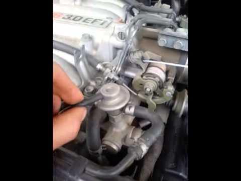 Toyota 4runner fuel pressure problem - YouTube