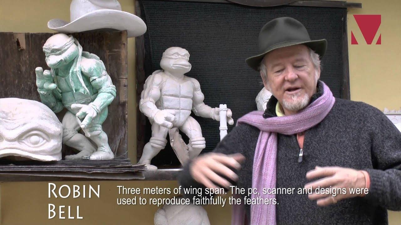 Robin Bell intervista a/interview whit robin bell - artista/artist - youtube