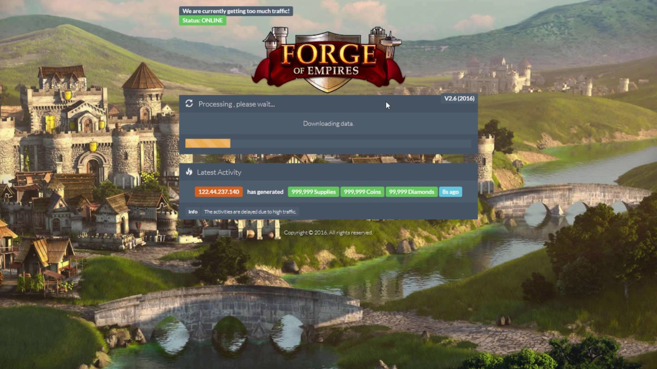 Forge of Empires Hack | How To Get Free Diamonds Cheats | HD Tutorial