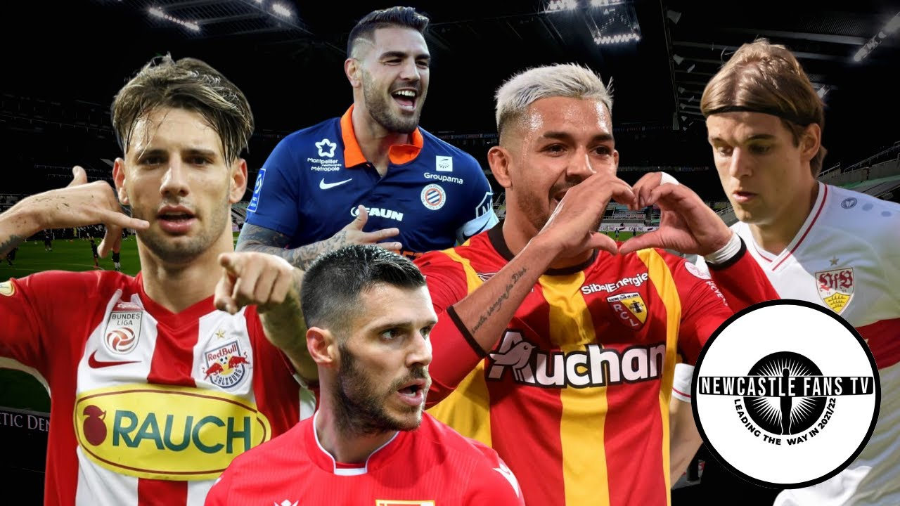 Five Newcastle United transfer targets for five positions
