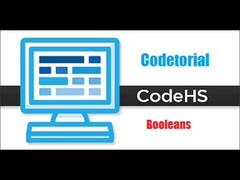 Codetorial Booleans #10