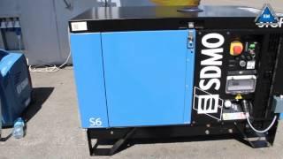 электрогенератор SDMO Pacific T8K обзор