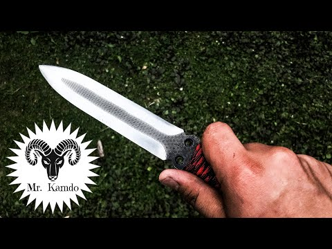 How to make a Dagger Knife from a File