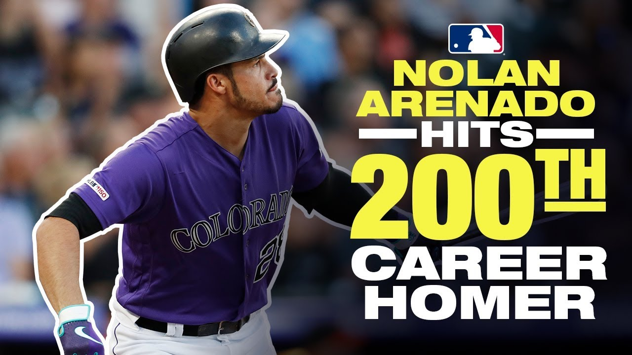Arenado hits 200th career homer