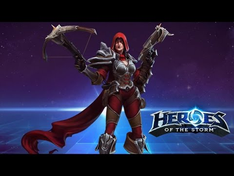 Heroes of the Storm - Valla stealth hunter