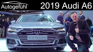2019 Audi A6 Exterior Interior REVIEW Brian