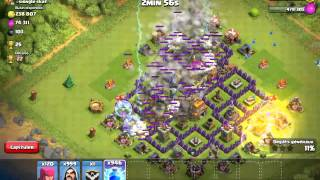 Attaque sur meilleure joueur de clash of clans