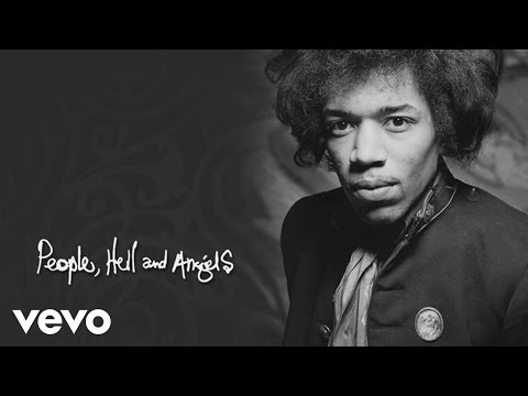 Jimi Hendrix - Rockline Radio - Jimi Hendrix - People, Hell and Angels - Part 2