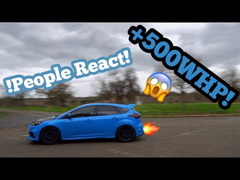 Reactions in a +500whp Focus RS!!!