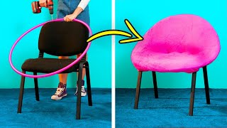 HOME DECOR || 27 Cheap Furniture DIYs, Home Repair Hacks, Reuse And Recycle Decor Ideas