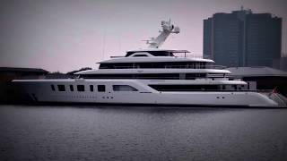 Aquarius, the Crazy US$ 215 Million Superyacht owned by billionaire Steve Wynn