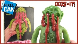 Ooze-It 1981 Awesome Slime Figure Video Review