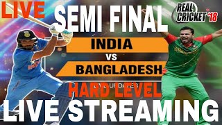 LIVE STREAMING PART2 IND VS BAN SEMI FINAL IN CHAMPIONS TROPHY ON REAL CRICKET 18