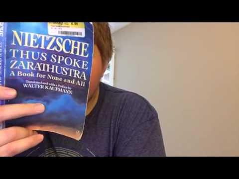 Nietzsche-Thus Spoke Zarathustra (Pt 2 Sctn 2)- Upon the Blessed Isles