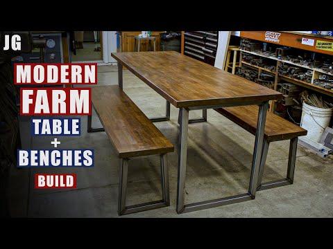 Metal & Wood Kitchen Table   JIMBO'S GARAGE
